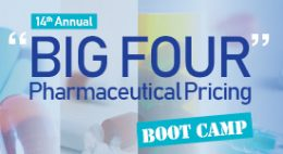 """BIG FOUR"" Pharmaceutical Pricing Boot Camp"